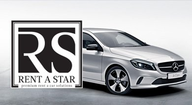 Aluguer de viaturas Mercedes Rent A Star